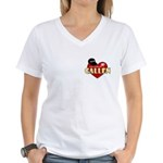NCIS LA Callen Women's V-Neck T-Shirt