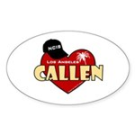 NCIS LA Callen Sticker (Oval 10 pk)
