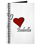 I love Isabella Journal