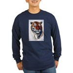 Animal (Front) Long Sleeve Dark T-Shirt