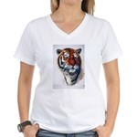 Animal (Front) Women's V-Neck T-Shirt