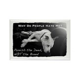 Pitbull Dogs - Ban BSL Rectangle Magnet (10 pack)