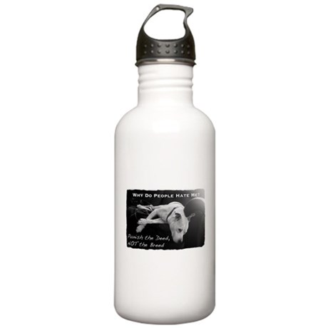 Pitbull Dogs - Ban BSL Stainless Water Bottle 1.0L