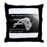 Pitbull Dogs - Ban BSL Throw Pillow