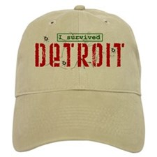 I Survived Detroit - Baseball Cap