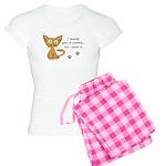 Cute Kitty Ate Your Cookie Women's Light Pajamas