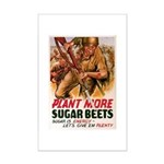 WW2 Sugar Beets Mini Poster Print