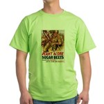 WW2 Sugar Beets Green T-Shirt