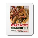 WW2 Sugar Beets Mousepad