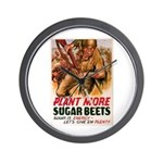 WW2 Sugar Beets Wall Clock
