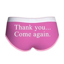 Thank You Come Again - Women's Boy Brief