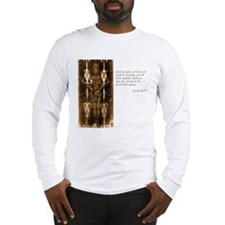 Shroud of Turin Long Sleeve T-Shirt