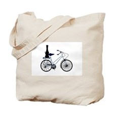 Guitar on the Bike - Tote Bag