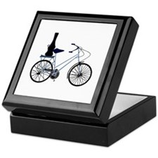 Guitar on the Bike - Keepsake Box