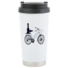 Guitar on the Bike - Ceramic Travel Mug