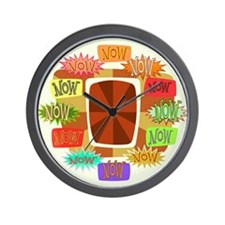 Unique Now Wall Clock