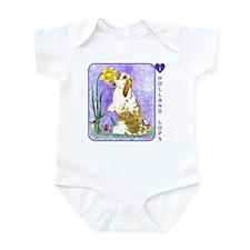 Holland Lop Rabbit Infant Bodysuit