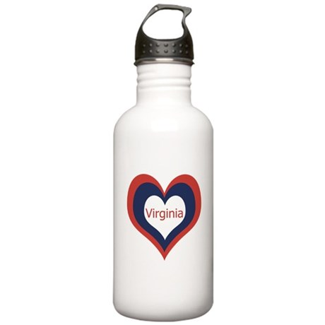 Virginia - Stainless Water Bottle 1.0L