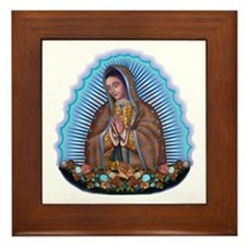 Lady of Guadalupe T5 Framed Tile