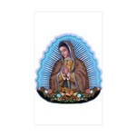 Lady of Guadalupe T5 Sticker (Rectangle 50 pk)