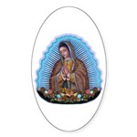 Lady of Guadalupe T5 Sticker (Oval 50 pk)