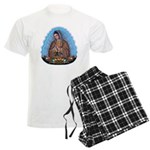 Lady of Guadalupe T5 Men's Light Pajamas