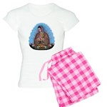 Lady of Guadalupe T5 Women's Light Pajamas