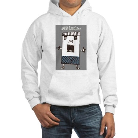 ANGRY Laughter Hooded Sweatshirt