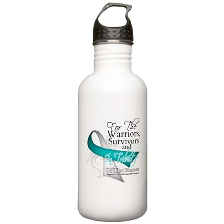 Tribute 2 Cervical Cancer Stainless Water Bottle 1