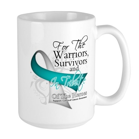 Tribute 2 Cervical Cancer Large Mug