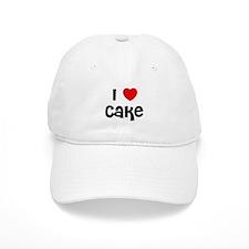 I * Cake Baseball Cap