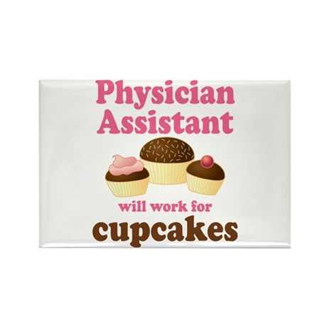 Funny Physician Assistant Rectangle Magnet