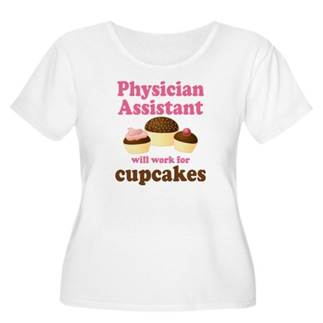 Funny Physician Assistant Women's Plus Size Scoop