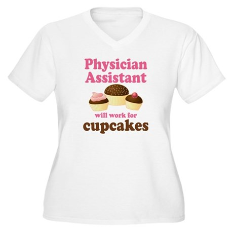 Funny Physician Assistant Women's Plus Size V-Neck
