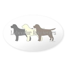 Labrador Retrievers Decal
