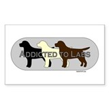 Addicted to Labs Decal
