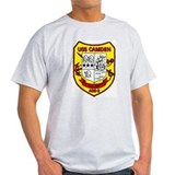 USS Camden AOE 2 Plankowner Ash Grey T-Shirt