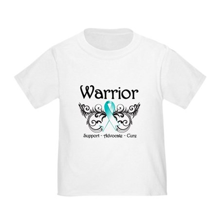 Warrior Cervical Cancer Toddler T-Shirt