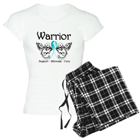 Warrior Cervical Cancer Women's Light Pajamas