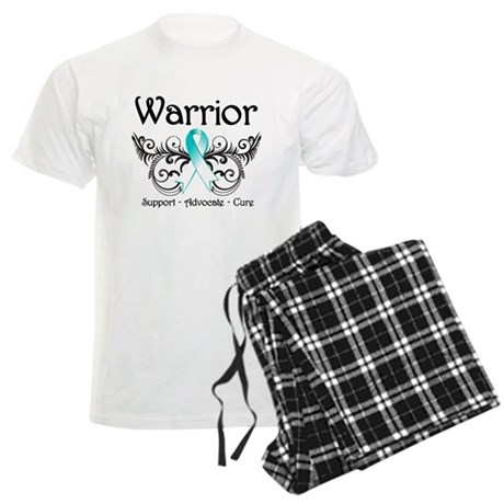Warrior Cervical Cancer Men's Light Pajamas