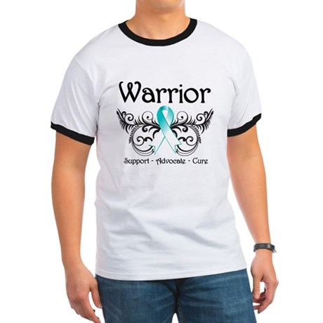 Warrior Cervical Cancer Ringer T