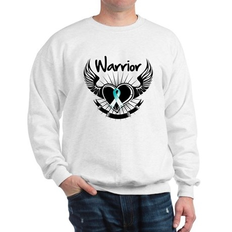 Warrior Cervical Cancer Sweatshirt