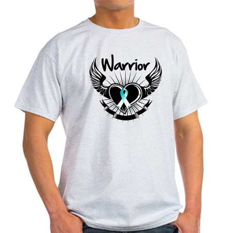 Warrior Cervical Cancer Light T-Shirt
