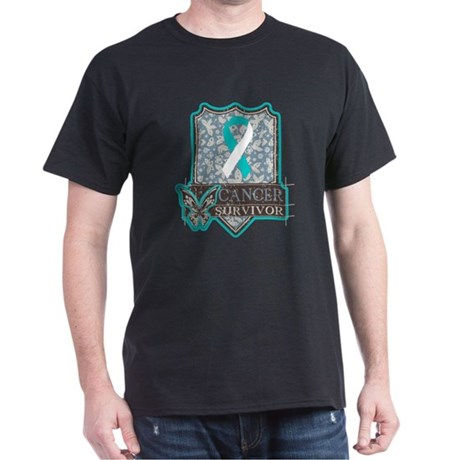 Cervical Cancer Survivor Dark T-Shirt