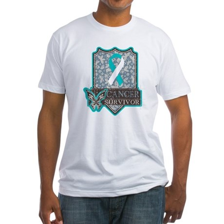 Cervical Cancer Survivor Fitted T-Shirt