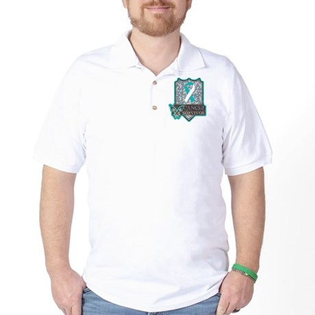 Cervical Cancer Survivor Golf Shirt
