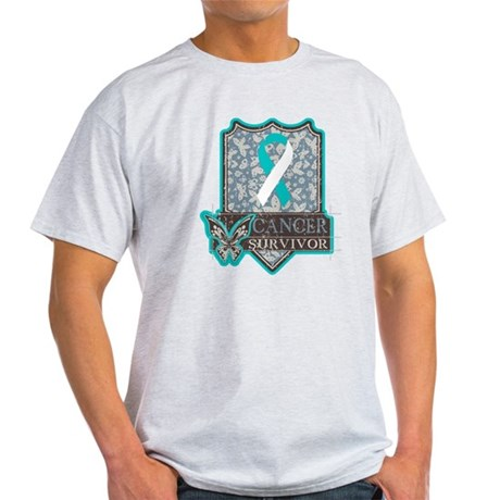 Cervical Cancer Survivor Light T-Shirt