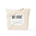 Got Sticks? Tote Bag