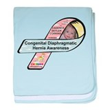 Cadence Skyler Corkins CDH Awareness Ribbon baby b