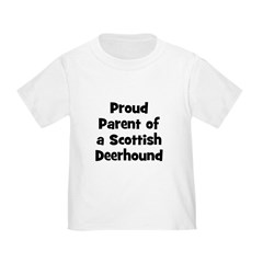 Proud Parent of a Scottish De Toddler T-Shi